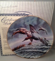 W. S. George CANVASBACKS Stamp Collector Plate w/ COA - $9.75