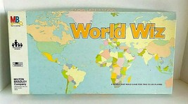 World Wiz Map Game Skills Milton Bradley 1979 Complete - $29.99