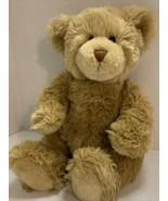 "Build A Bear Classic Light Brown Shaggy Fur Teddy Bear Plush 15"" Soft Cu... - $26.88"