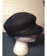 100% Black Wool Navy Army Cadet Hat Civil War Style Cosplay Costume (hb9) - $11.75