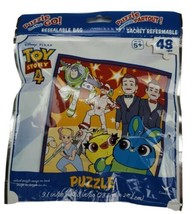 PUZZLE ON THE GO 48 pcs DISNEY TOY STORY 4 COLLECTIBLE Resealable Bag NEW! - $6.23