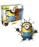 3DLightFX Minions Series Battery Operated 10 Inch Tall 3D Deco Night Lig... - $54.99