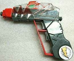 2003 Power Rangers Bandai Dino Thunder Double Trigger Ray Gun Toy Pistol Weapon - $4.39