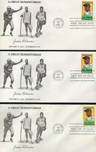 JACKIE ROBINSON Three First Day Covers - best price on ebay - $5.94