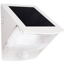 MAXSA Innovations 40234 Solar-Powered Motion-Activated Wedge Light (White) - $48.46