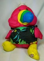 Fisher Price Puffalump Toucan Stuffed Animal Plush Vintage 1987 Hawaiian... - $15.79