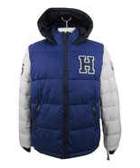 Tommy Hilfiger Mens XL Blue/Gray Wind Resistant Ultra Loft Insulated Jac... - $98.49