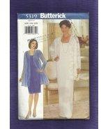 Vintage Uncut Butterick sz 16W-18W Misses Dress and Jacket, 5319 - $10.85