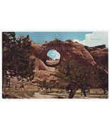 WINDOW ROCK AZ~NAVAJO TRIBAL HEADQUARTERS~NATIVE AMERICANA postcard ~IND... - $2.76