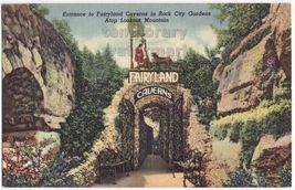 FAIRYLAND CAVERNS ENTRANCE~ROCK CITY GARDENS TN~LOOKOUT MOUNTAIN TENNESS... - $2.71