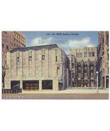 CHICAGO IL - WGN STUDIOS BUILDING c1940s vintage postcard- GOTHIC ARCHIT... - $3.63
