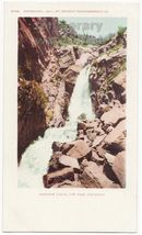 RAINBOW FALLS UTE PASS MANITOU CO 1901 UDB vintage postcard COLORADO SCE... - $3.54