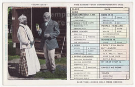 Happy Days - Black Americana Easy Correspondance postcard c1930s - Old C... - $6.39