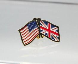 United States UK United Kingdom Friendship Lapel Pin - $4.99