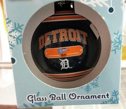 MLB Detroit Tigers 2014 Plaque Ball Ornament - $9.99