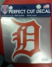 "MLB Detroit Tigers Orange Perfect Cut Color Decal 8"" X 8"" - $14.69"