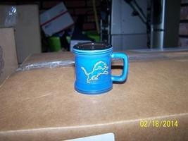 NFL Detroit Lions 2oz Sculpted Mini Mug Shot Glass - $12.73