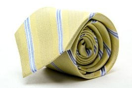 Club Room Men's BOCA STRIPES Neck Tie in Medium Yellow / Multi - $17.58