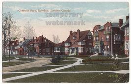 Chestnut Park, Rosedale, Toronto, Canada c1910s vintage postcard - Ontario - $3.22