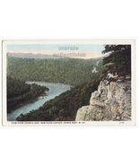 View from Lovers Leap, New River Canyon, Hawks Nest WV c1920s postcard (... - $4.55