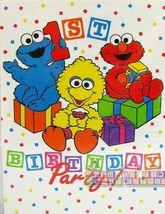 BABY ELMO Sesame Street Party INVITATIONS Supplies x8 Birthday Shower De... - $6.88