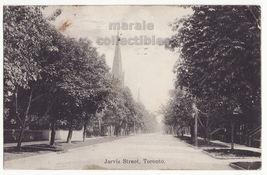 Toronto ON Canada - Jarvis Street View c1908 Ontario vintage postcard  M... - $2.71