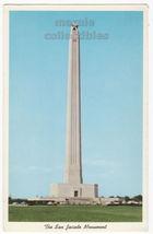 Houston Texas TX - San Jacinto Monument - c1950s vintage postcard M8330 - $3.63