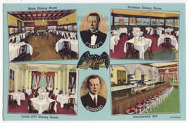 L'Aiglon, Ontario Street Chicago Restaurant Interior  c1930s IL postcard... - $4.55