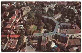 Sheraton Park Hotel, Washington DC aerial view, Reservatron 1960s postcard M8380 - $3.22