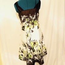 Floral Multicolored Dress Tiered Womens *Dressbarn Size 8 - $23.65