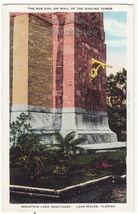 Lake Wales FL Mountain Lake Sanctuary Singing Tower Sundial c1920s postc... - $3.63