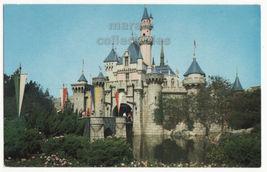 Sleeping Beauty Castle, Fantasyland, Disneyland CA 1960s postcard M8463 - $2.71