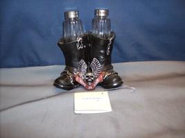 Biker Boots Salt & Pepper - Open Road Spice -  HH40334   ABC - $11.95
