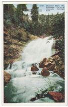 Phantom Falls, North Cheyenne Canon, Colorado Springs CO c1920s postcard... - $4.55