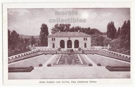 Washington DC Aztec Garden and Annex, Pan American Union 1930s postcard ... - $2.71