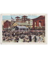 Atlantic City NJ Beach Scene near South Carolina Avenue 1920s postcard M... - $4.55