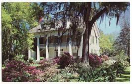 Antebellum Home, New Orleans Louisiana Architecture LA c1960s postcard M8634 - $2.75