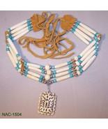 NAC-1504 - Carved  Buffalo Bone Pendant/Hair Pi... - $47.03