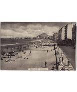 Brazil Rio de Janeiro Copacabana Beach Scene c1950s old postcard M3855 - $4.55