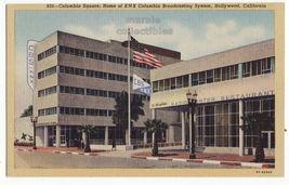 Hollywood CA Columbia Square CBS/KNS Buildings & Restaurant 1930s postcard S8855 - $3.63