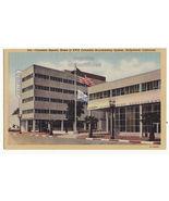 Hollywood CA Columbia Square CBS/KNS Buildings & Restaurant 1930s postca... - $3.63