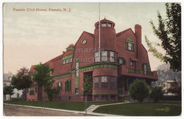 Passaic Club House, Passaic NJ c1911 vintage New Jersey postcard M8919 - $3.63
