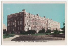 EDMONTON Alberta University Arts Building c1940s Gowen Sutton RPPC postc... - $4.55