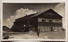 AUSTRIA ZELL AM SEE Schmittenhohe BERGHOTEL~ c1930s photo postcard RPPC - $3.63