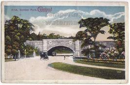 CLEVELAND OH - GORDON PARK ARCH~1910s FIFTH CITY vintage postcard - $3.22