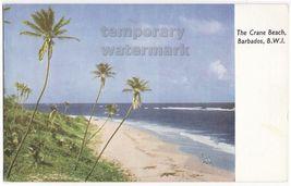Barbados Bwi Crane Beach C1960s Postcard ~British West Indies - $3.63