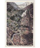 GRAND CANYON AZ ~ HORSES ON JACOBS LADDER BRIGHT ANGEL TRAIL c1910s post... - $4.95