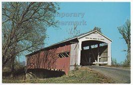 Rockville In   Neet Covered Bridge Parke County No 10   C1960s Postcard - $3.22