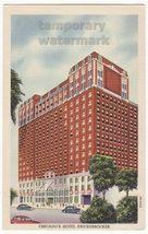 IL ~ CHICAGO'S NEWEST HOTEL KNICKERBOCKER ca 1930s postcard - $4.55