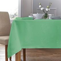 Tissé Damas Rose Vert Sauge Nappe de Table Carrée 88.9cm X 88.9cm (89cm X 89cm) - $15.55